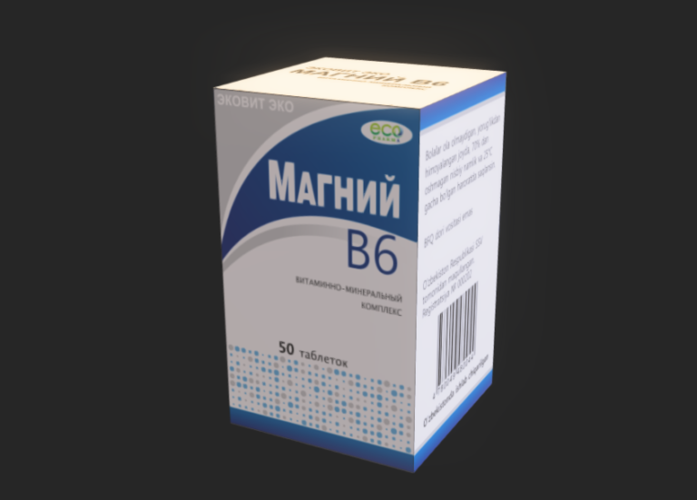 Magniy B6 – 3D modeli